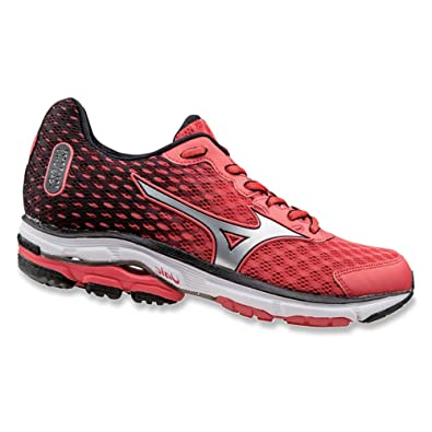 Shoes MIZUNO Wave Rider 18 J1GD150331 Grey Pink White
