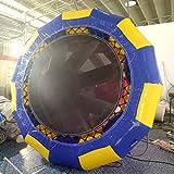 10' Inflatable Water Trampoline Series Splash Padded Water Bouncer Inflatable Bouncer Jump Water