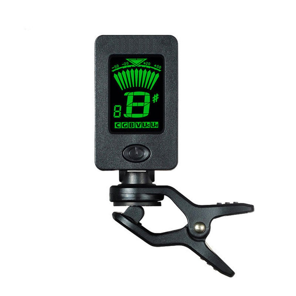 Tuner for Guitar Digital Chromatic Bass D15 Electronic LCD Tuner Clip-On Tuner for Guitar Bass & Violin Vipe xy424536