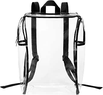 Lewis N. Clark Heavy Duty PVC Clear Backpack, Clear (clear) - 4483-CLR