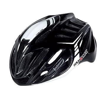 SUOMY Casco Bicicleta Timeless negro/blanco Talla M (Cascos MTB y carretera)/