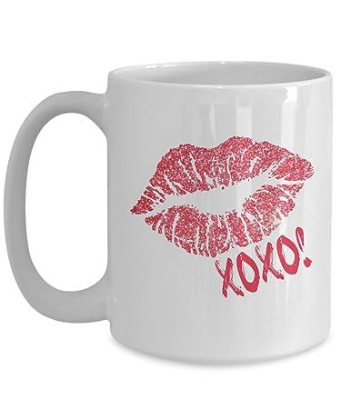 Amazoncom Sexy Xoxo Coffee Mug Tea Cup Gift Mugs Under 20 Gift