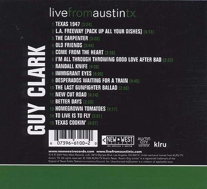 Clark Guy Live From Austin Tx Amazon Com Music