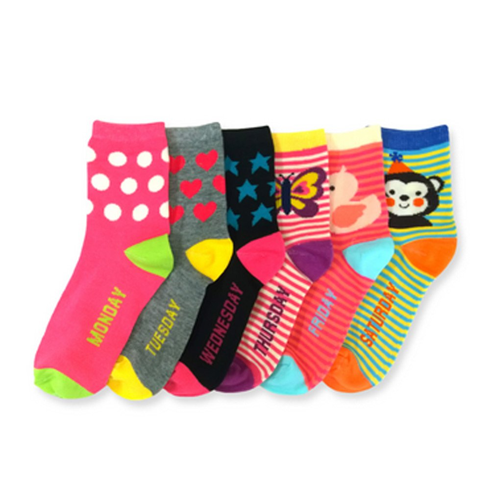 3 Pair Girls Toddler Socks Size 2-3 Mixed Assorted Design Colors Fashion 2T 3T !