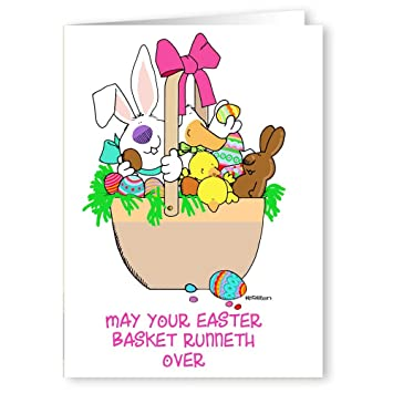 Amazon 24 personalized easter cards customized greeting cards 24 personalized easter cards customized greeting cards 5x7 folded m4hsunfo