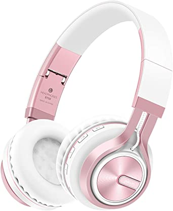 KINGCOO Bluetooth Casque Audio Pliant, Casque