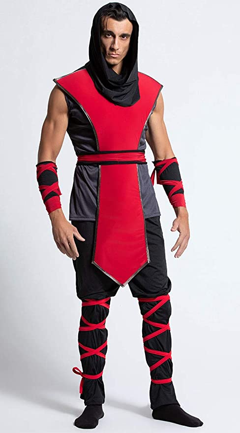 Amazon.com: Yandy - Disfraz de asesino ninja sin mangas para ...