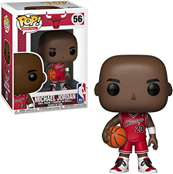 Funko Nba Basketball Michael Jordan Chicago Bulls Rookie Uniform Exclusive Pop Amazon Co Uk Toys Games