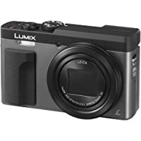 Panasonic Lumix DC-TZ90EG-S - Cámara compacta Digital DE 20.3 MP (estabilización híbrida, 4K, 120 FPS, Lente Leica, Zoom 30X, WiFi y Post Focus), Color Plata