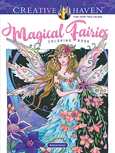 Pdf Crafts Creative Haven Magical Fairies Coloring Book (Adult Coloring)