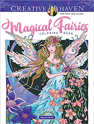 Amazon Creative Haven Magical Fairies Coloring Book Adult 9780486824215 Marjorie Sarnat Books