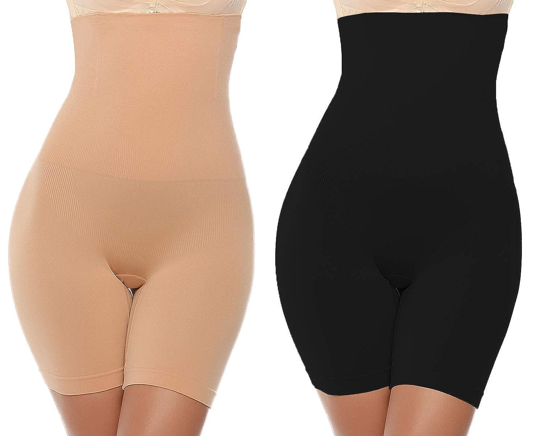 Abollria Intimo Modellante da Donna Guaina Mutande Contenitiva Fascia Elastica a Vita Alta Pantaloncini Snellenti Invisible Body Shapewear Dimagrante