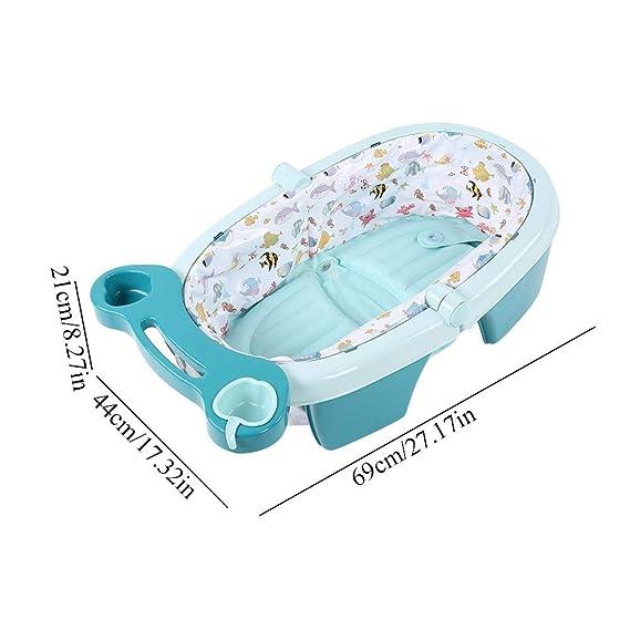 Bañera Inflable Bebe Jane, Portátil Infantil Bañera de ...