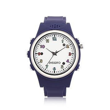 Diggro Enfant Montre Connecté Smartwatch Bluetooth GPS LBS Double Emplacement Sécuritaire Tracker SOS Appel Carte SIM