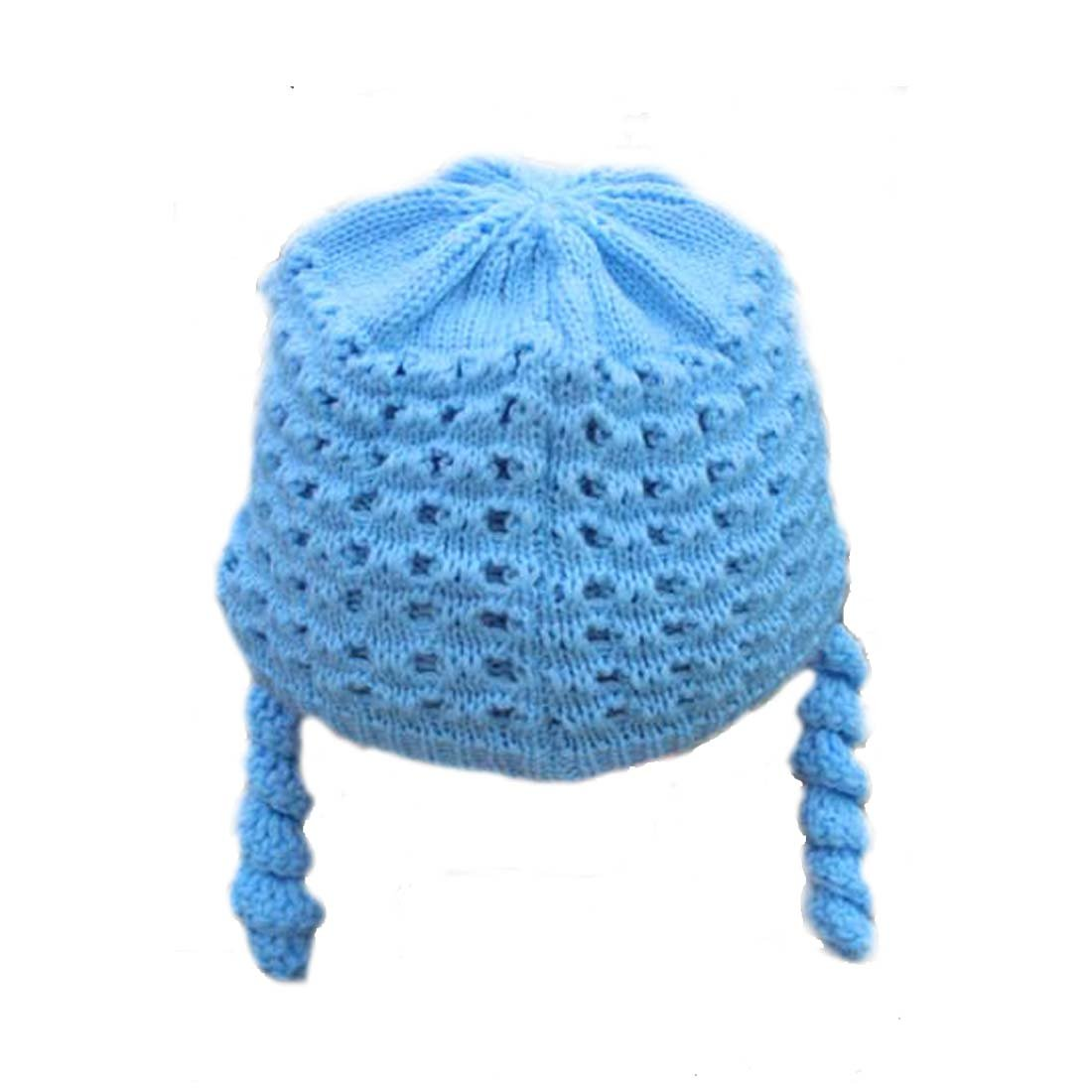 King Star Newborn Toddler Nursery Autumn Winter Bonnet Knitted Baby Girl Boy Hats
