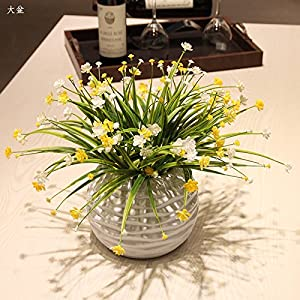 Emulation flower stars grass, floral kit floral garden dining table coffee table wind home office decoration flower 44