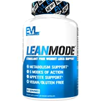 Evlution Nutrition Lean Mode - Complete Stimulant-Free Weight Loss Support and Diet System with Green Coffee, Carnitine…