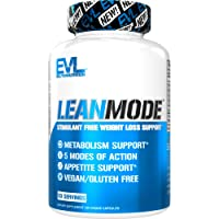 Evlution Nutrition Lean Mode - Complete Stimulant-Free Weight Loss Support and Diet...