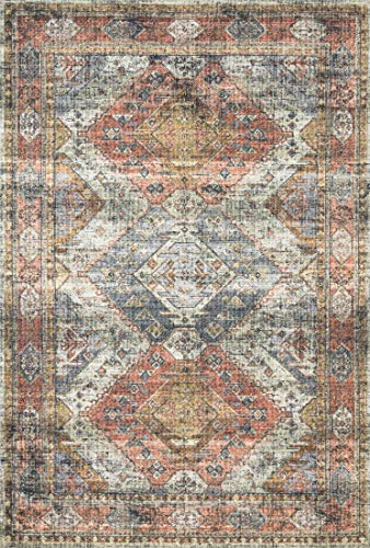 - Loloi II SKY-06 Traditional Area Rug, 7'-6