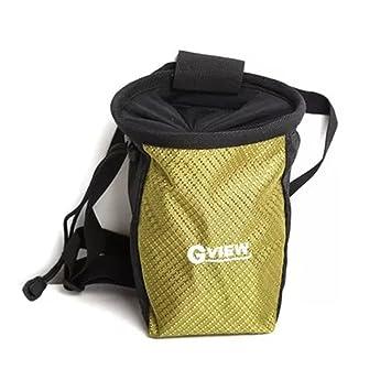 Wankerl Al Aire Libre Escalada Climb Rider magnesio Addict en Polvo de Color Bolso de la Bolsa con Cintura cinturón, Verde: Amazon.es: Deportes y aire libre