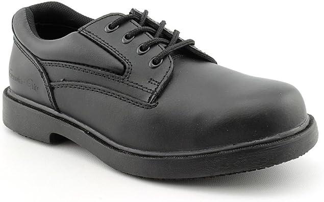 Slip-Resistant Steel Toe Oxford
