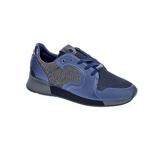 Cruyff Classics Tech Rapid - Zapatillas Bajas Hombre Azul Talla 43: Amazon.es: Zapatos y complementos