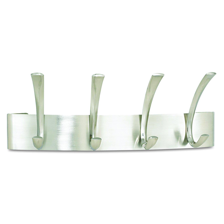 amazoncom safco products metal coat rack  hook silver sl  - amazoncom safco products metal coat rack  hook silver sl officeproducts