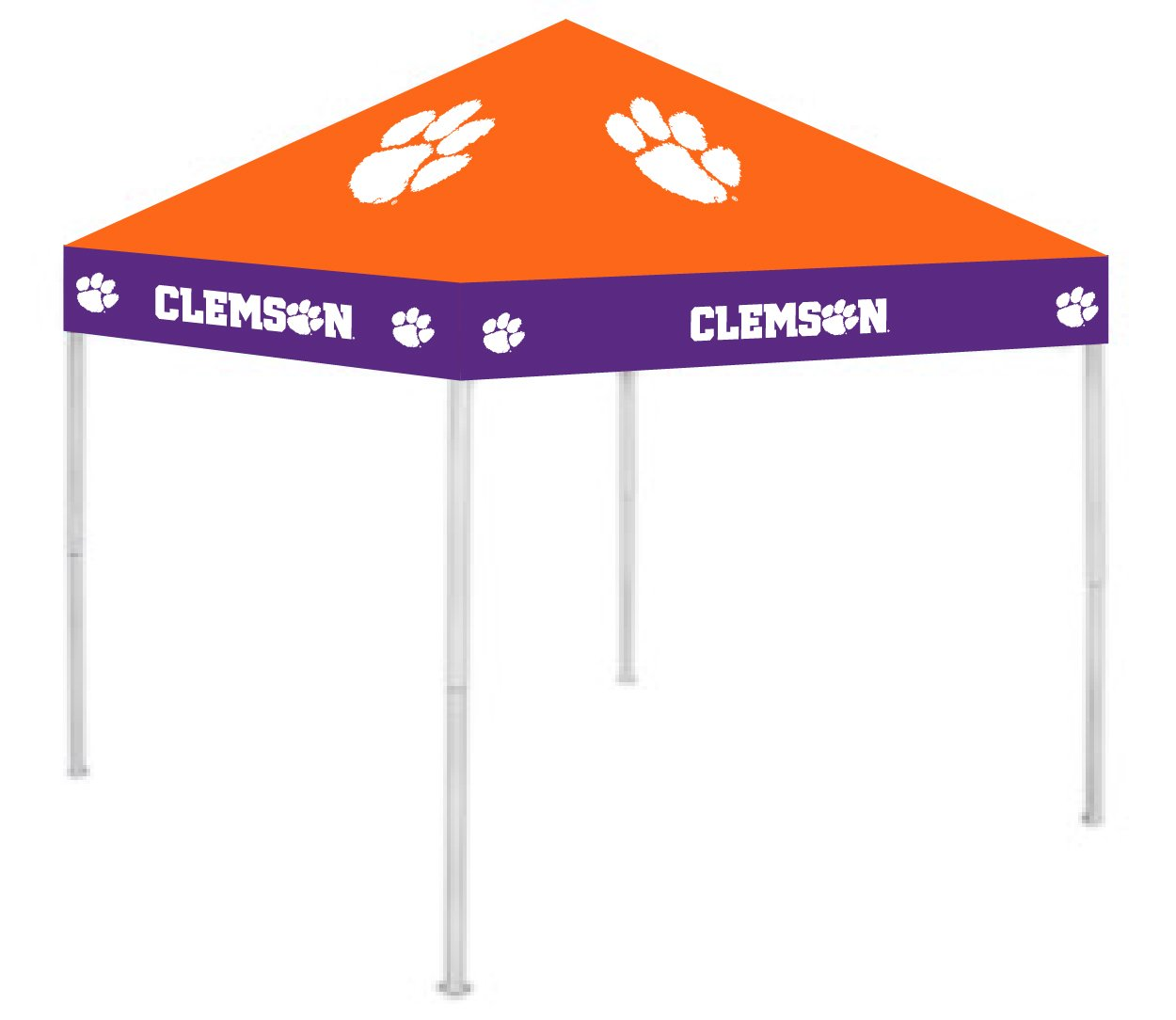 Rivalry RV158-5000 9' x 9' Clemson Ultimate Tailgate Pop-Up Gazebo Canopy Tent B002MY7X8Y 9' x 9'|クレムゾンタイガース クレムゾンタイガース 9' x 9'
