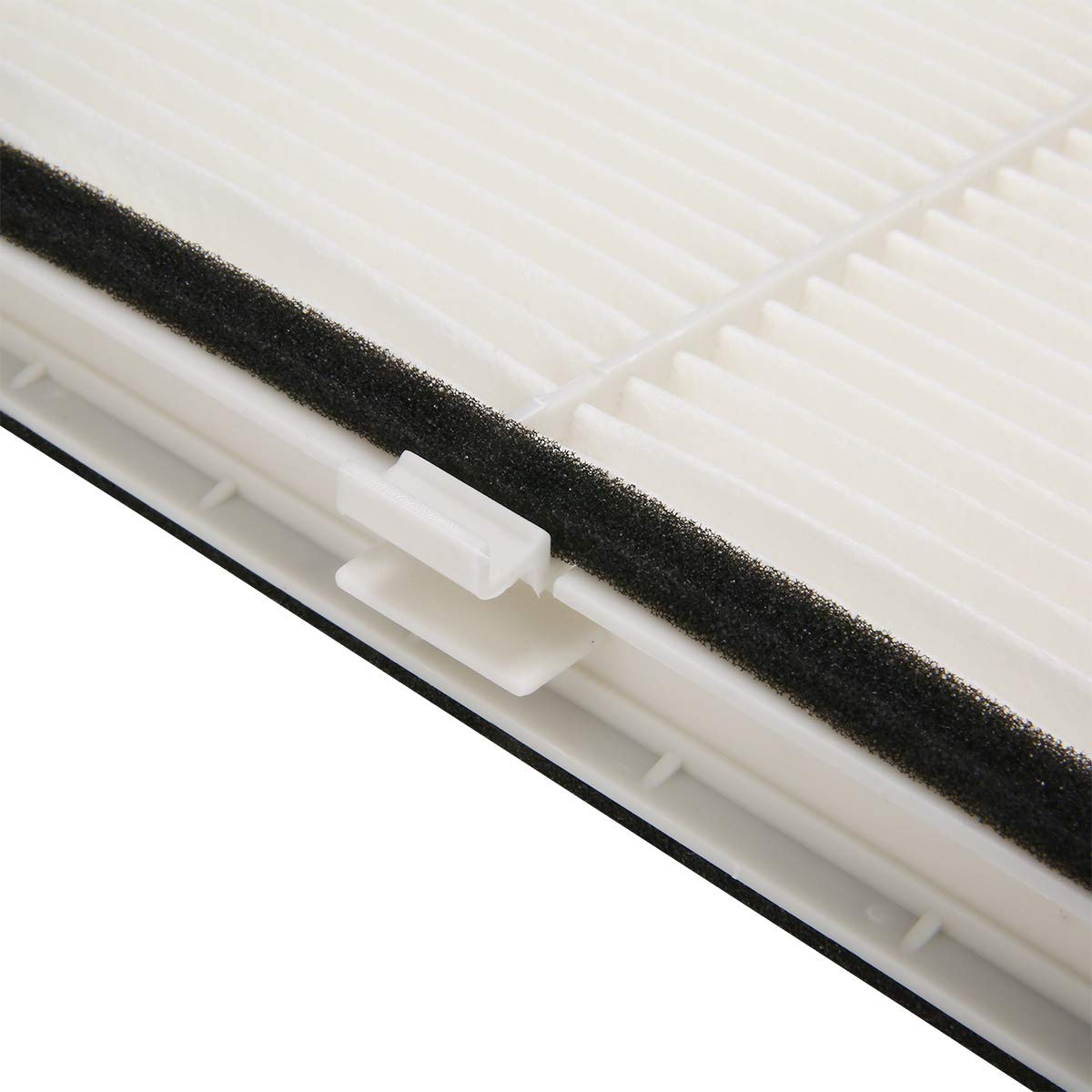 SODIAL Automotive Cabin Air Filter Air Conditioning System Filter For Mazda 3 14-17 6 13-17 Cx-5 12-17 Kd45-61-J6X