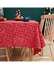 Deconovo Nappe Rectangulaire Impermeable à Motif Nappe de Salon pour la Table