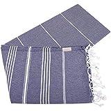 Turkish Towel Set of 6 Beach Towels Oversized
