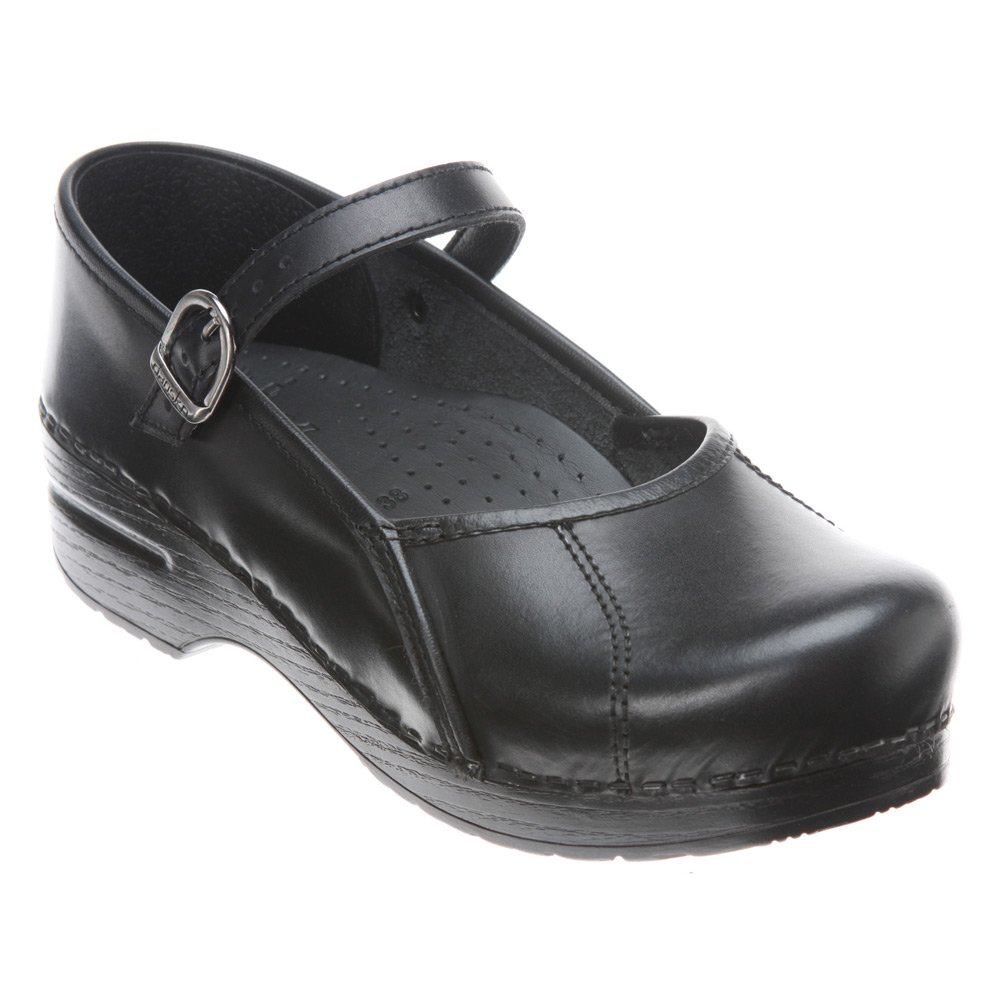Dansko Women's Marcelle Dress Pump, Black Cabrio, 39 EU/8.5-9 M US