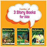 Story Books for Kids, (Combo pack of 3 books, 93 stories)