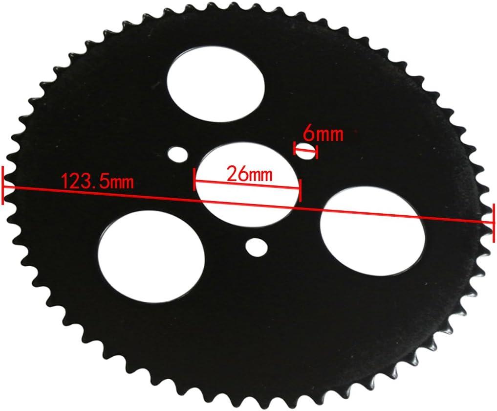 Jrl 70T dents 6/mm 25H arri/ère Pignon Mini moto pour v/élo de course
