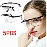 Safety Protective Goggles, Crystal Clear Eye Protection,Dust-Proof Breathable Laboratory Dustproof Glasses,Splash,Anti…