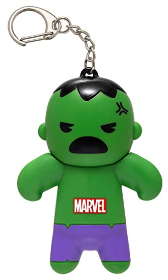 The Incredible Hulk Key Chain Tin Backpack Clip On Storage Compartment Set of 2