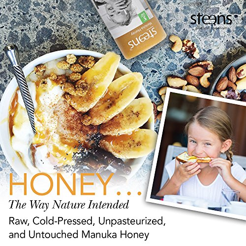 Steens Manuka Honey UMF 15 (MGO 514) 8.8 Ounce jar | Pure Raw Unpasteurized Honey From New Zealand NZ | Traceability Code on Each Label by Steens (Image #6)