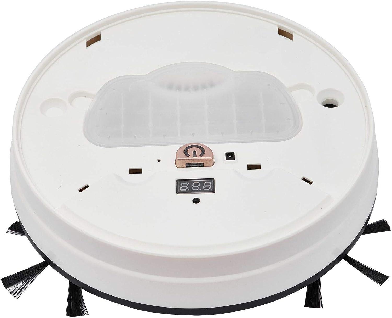 LXRZLS Plein Aspirateur Robot Intelligent Balayer Balayer et Glissement de contrôle de synchronisation du réservoir Accueil Sweeper Smart Home (Color : Black) Black
