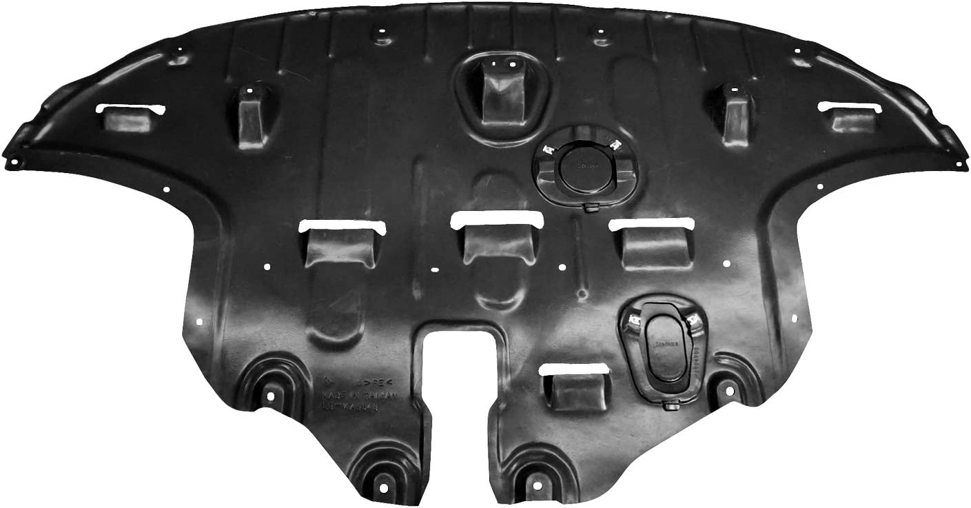 2017-2019 Kia Sportage Undercar Shield; Fwd Models; Made Of Pe Plastic Partslink KI1228159