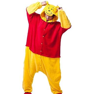 641d69511851 Triline Winnie the Pooh Bear Kigurumi Pajamas Pooh Costume Cosplay size M  (63 quot -