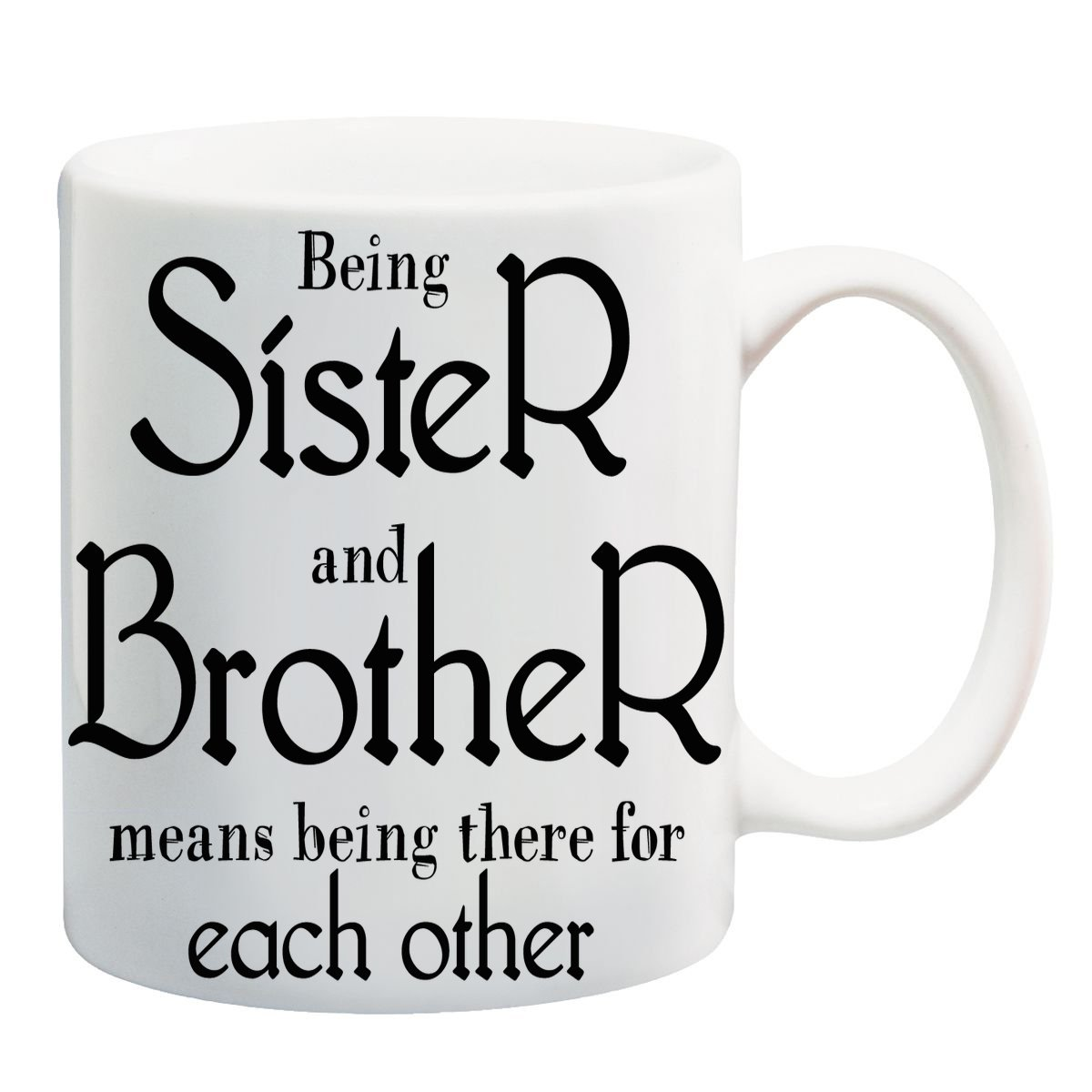Buy Anni69 Presents Sister And Brother Love Quotes Online At Low Prices In India Amazon In
