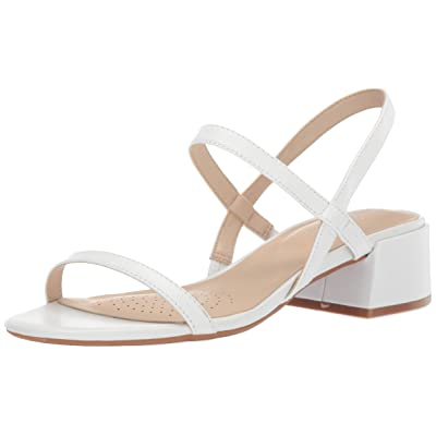 Kenneth Cole New York Women's Maise Low Block Heel Strappy Sandal Heeled | Heeled Sandals