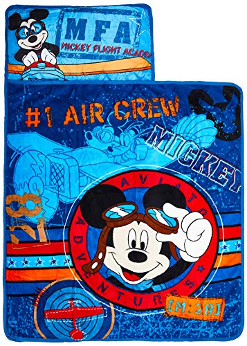 Disney Mickey's Toddler Rolled Nap Mat Now $11.72 (Was $35.99)