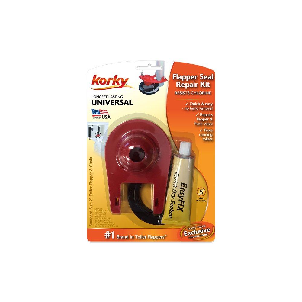 no leak toilet flapper. Korky 2003BP EasyFix Toilet Flush Valve and Flapper Repair Kit  2 Inch Amazon com