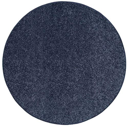 Amazon Com Bright House Solid Color Petrol Blue 6 Round