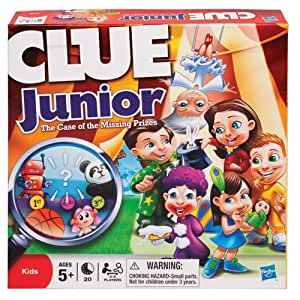 Hasbro Games Clue Junior Carnival- The Case of the Missing Prizes
