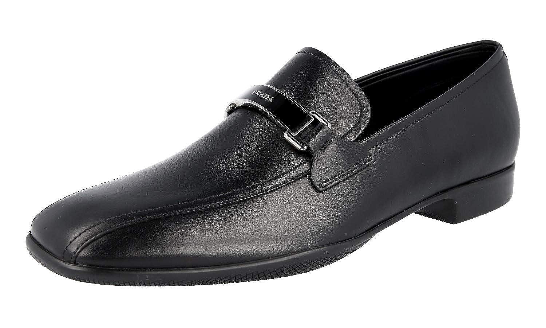 - Prada Herren 4D2823 8NQ F0002 Leder-Business-Schuhe