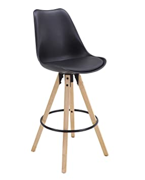 Chaise En Tabouret De Cleo Bar Design Chênenoir Scandinave Kayelles Piétement qcj534ARL