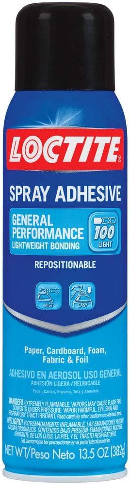 乐泰通用性能100喷雾粘合剂