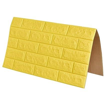 Amazon com: ZHANWEI 3D Wall Panels Wallpaper Self-Adhesive